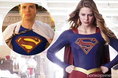 Звезда «Смолвиля» Том Уэллинг сыграет Кларка Кента в сериале «Супергерл»?