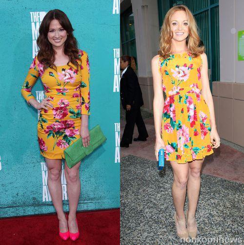 Fashion Battle: Элли Кемпер и  Джейма Мейс
