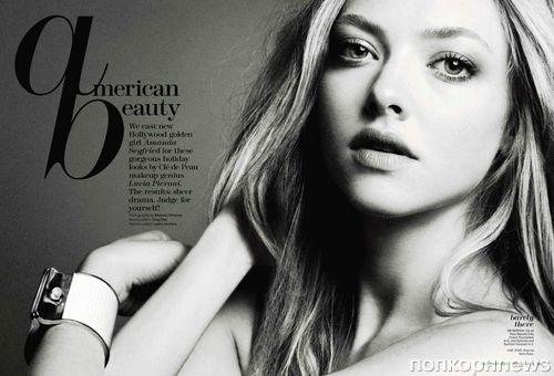 Аманда Сейфрид в журнале Marie Claire. Декабрь 2011