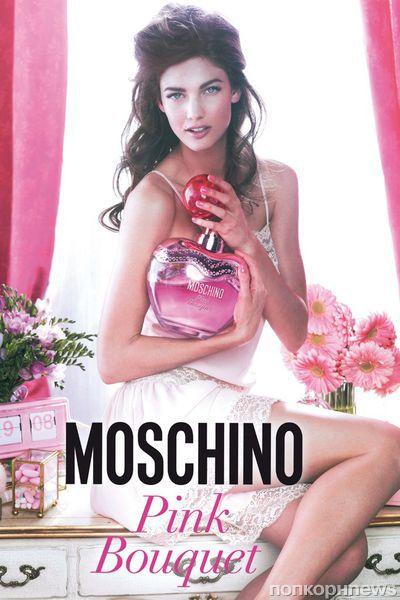 Новый аромат Pink Bouquet от Moschino