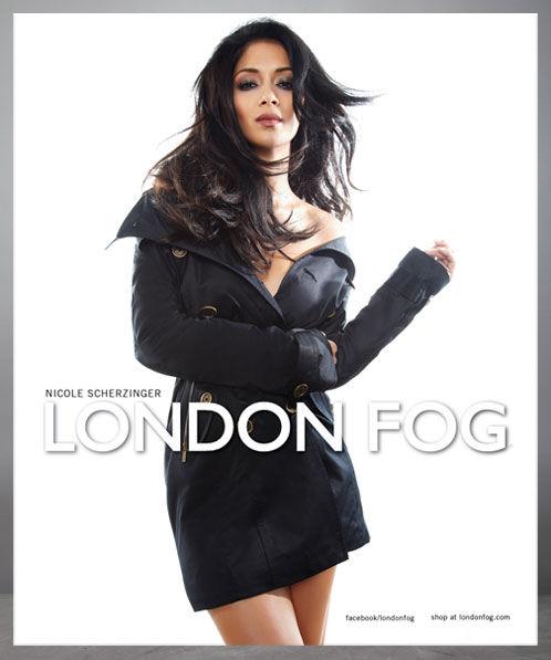 Николь Шерзингер новое лицо марки London Fog