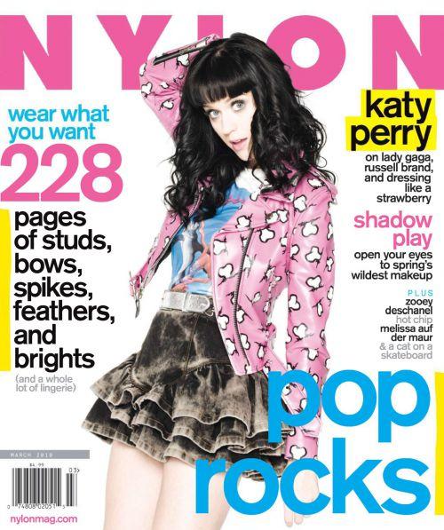 Кэти Перри в журнале Nylon. Март 2010