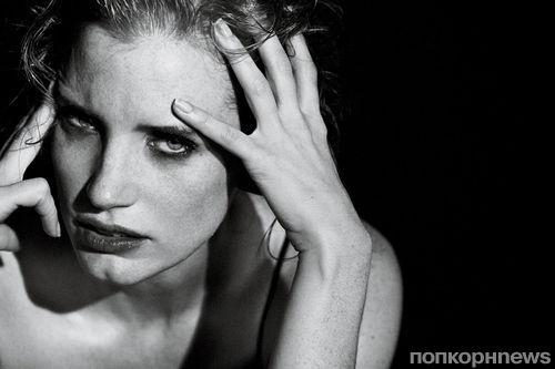Джессика Честейн в журнале Interview. Январь 2012