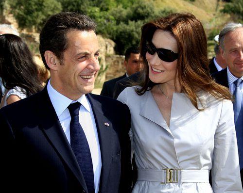 Карла Бруни и Николя Саркози дали имя дочери