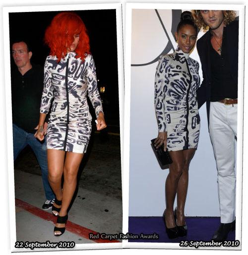 Fashion Battle: Рианна и Джада Пинкетт Смит