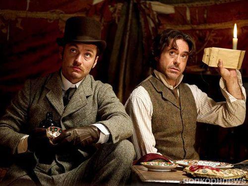 Роберт Дауни-мл и Джуд Лоу вернутся в «Шерлоке Холмсе 3» в декабре 2020