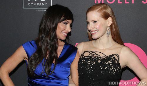 Фото: Джессика Честейн и «прототип» ее героини на премьере «Большой игры» в Нью-Йорке
