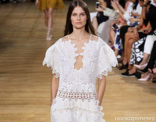 Модный показ новой коллекции Chloe. Весна / лето 2015