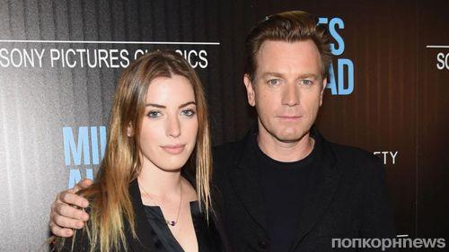 Дочь Юэна МакГрегора оскорбила его новую возлюбленную, из-за которой актер развелся с женой