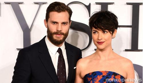 Жена Джейми Дорнана не хочет, чтобы он снимался с Анджелиной Джоли