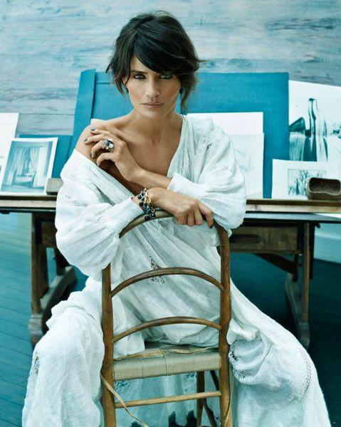 Хелена Кристенсен для ювелирной коллекции Ole Lynggaard Copenhagen