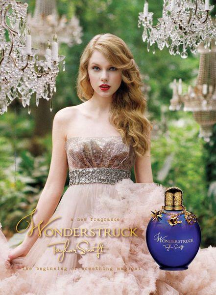 Первый взгляд на аромат Тэйлор Свифт Wonderstruck