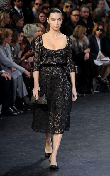 Супермодели на показе Louis Vuitton
