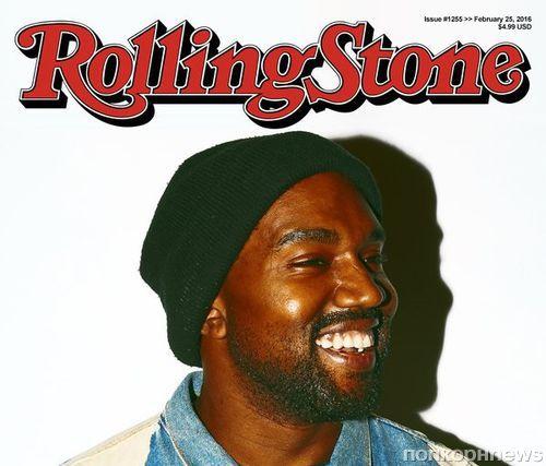 Канье Уэст поместил себя на фальшивую обложку Rolling Stone