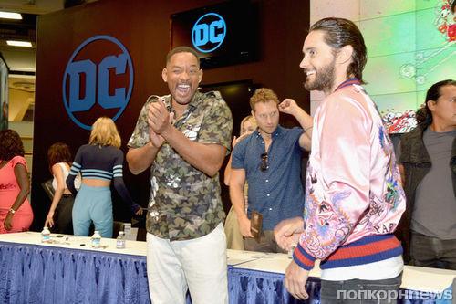Фото репортаж с Comic Con 2016: Джаред Лето и другие звезды «Отряда самоубийц»