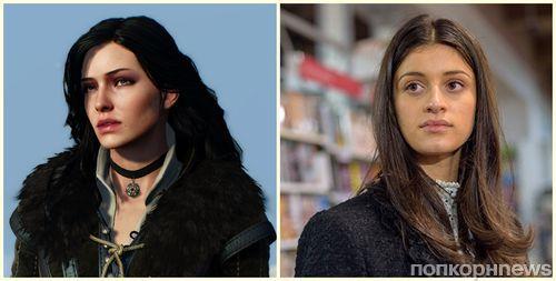 Фото: как Аня Чалотра могла бы выглядеть в образе Йеннифэр в сериале «Ведьмак»