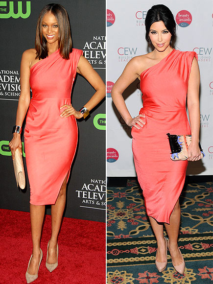 Fashion battle: Тайра Бэнкс и Ким Карашиан
