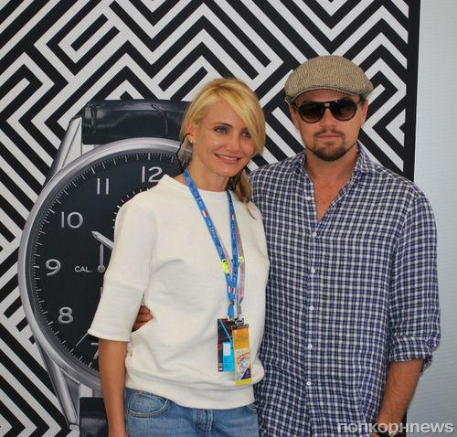 Леонардо Ди Каприо и Камерон Диаз посетили автогонку Гран При Монако