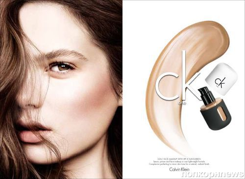 Коллекция декоративной косметики  CK One. Осень / зима 2013-2014