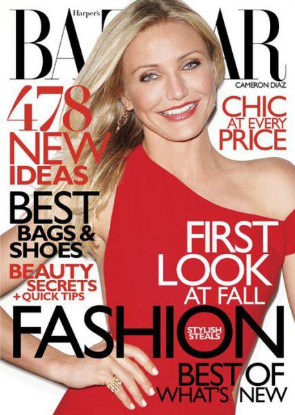 Кэмерон Диаз в журнале Harper's Bazaar. Август 2010