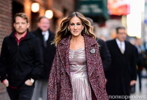 Снова Кэрри: 53-летняя Сара Джессика Паркер в белье на улицах Нью-Йорка в 2019 году