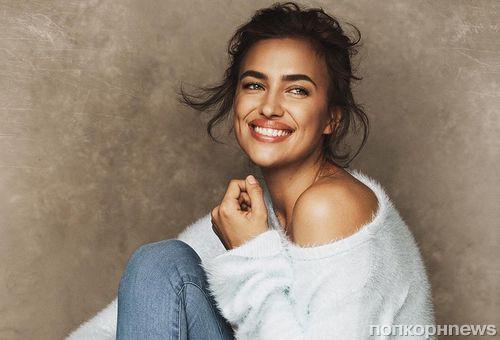 Ирина Шейк примерила элегантные образы в рекламной кампании Ellen Tracy
