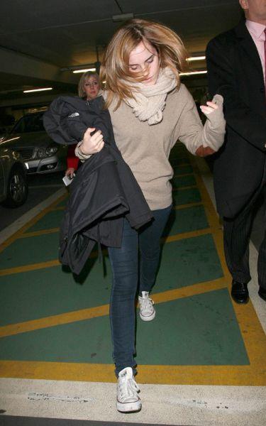 Эмма Уотсон вернулась в Лондон