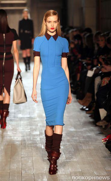 Модный показ Victoria Beckham. Осень / зима 2012-2013