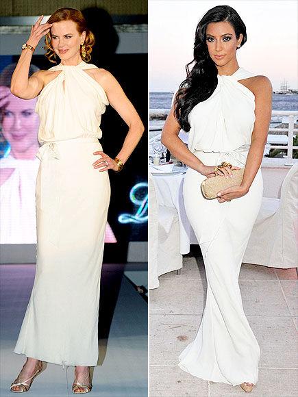 Fashion Battle: Николь Кидман и Ким Кардашиан