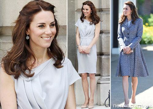 Кейт Миддлтон в очередной раз признали самой стильной британкой