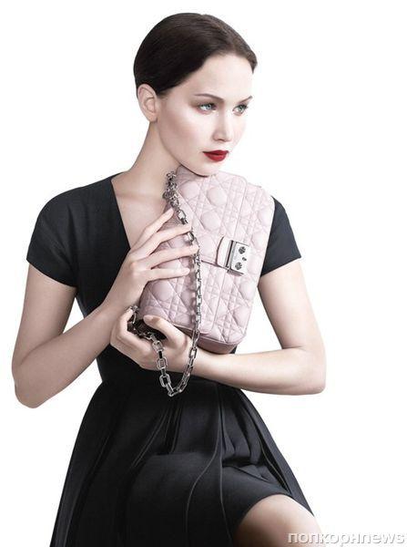 Дженнифер Лоуренс в рекламной кампании Miss Dior: первый взгляд