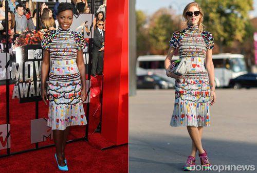 Fashion battle: Люпита Нионго и Кьяра Ферраньи