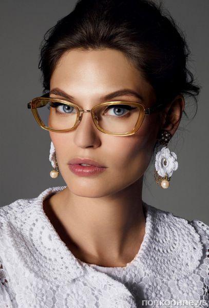Бьянка Балти в рекламной кампании Dolce & Gabbana. Зима 2012-2013