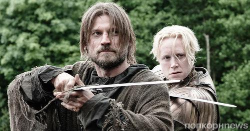 Джейме и Бриенна будут сражаться бок о бок в 8 сезоне «Игры престолов»