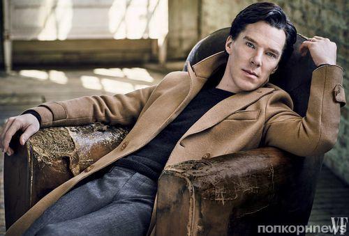 Бенедикт Камбербэтч снялся для обложки ноябрьского Vanity Fair