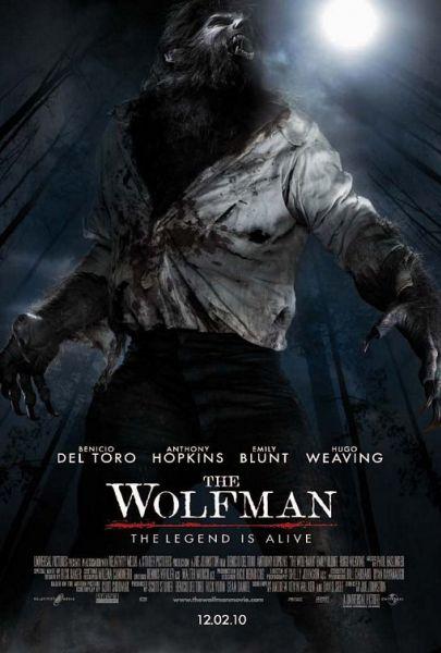Два новых постера фильма «Человек-волк»