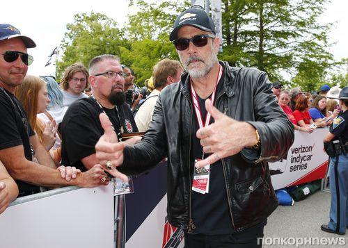 Звезда «Ходячих мертвецов» Джеффри Дин Морган поучаствовал в автогонках Indianopolis 500