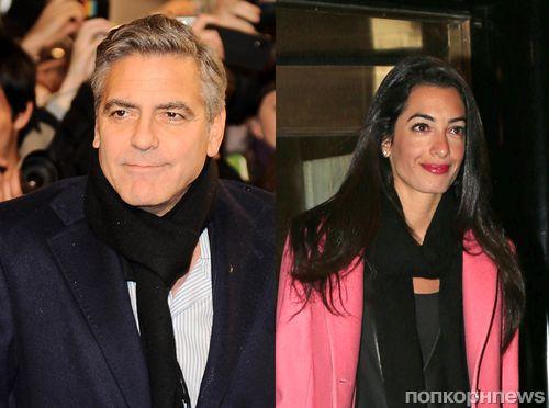 Свадьба Джорджа Клуни и Амаль Аламуддин: новые подробности