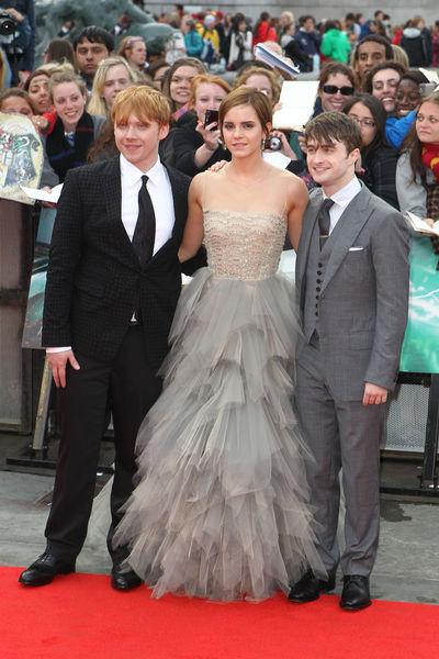 """Премьера фильма """"Гарри Поттер и Дары смерти. Часть вторая"""" в Лондоне"""