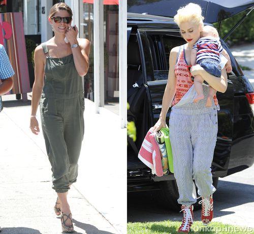 Fashion battle: Эшли Грин и Гвен Стефани