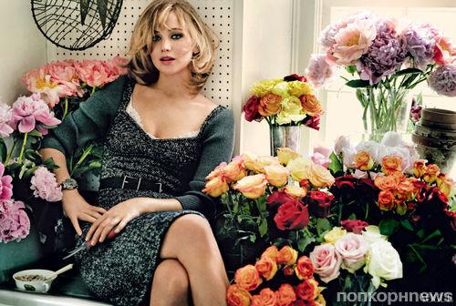 Дженнифер Лоуренс в журнале Vogue. Сентябрь 2013