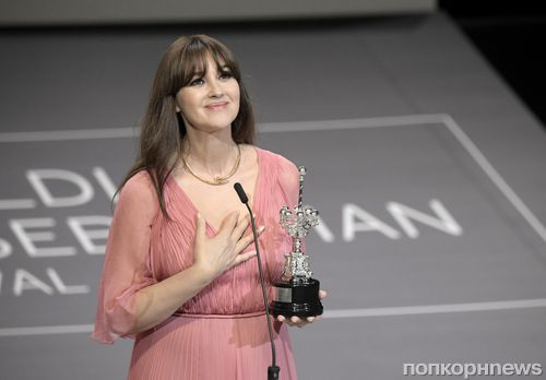 Моника Беллуччи получила специальную награду на кинофестивале в Сан-Себастьяне