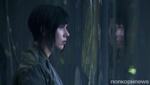 Скарлетт Йоханссон в образе японки-киборга на съемках «Призрака в доспехах»