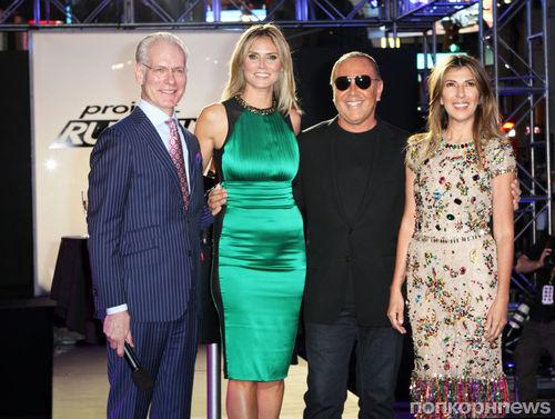 Хайди Клум открыла новый 10-ый сезон шоу «Подиум»