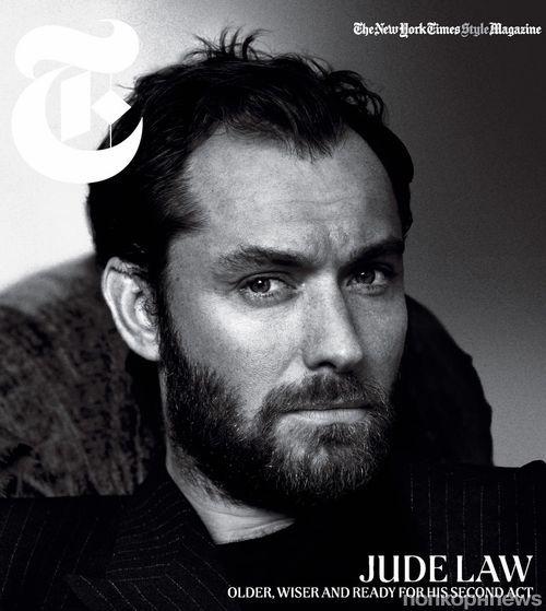 Джуд Лоу в журнале New York Times T Style. Декабрь / январь 2012-2013