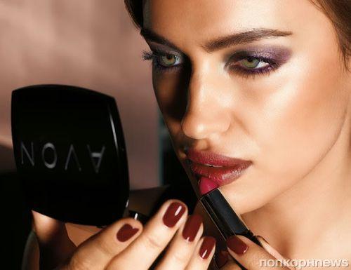 Ирина Шейк в рекламной кампании  Avon Бразилия