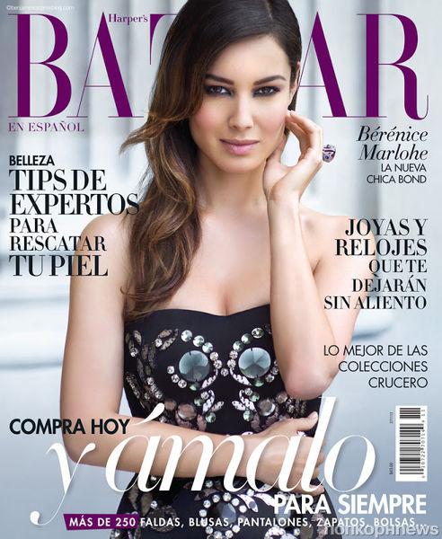 Беренис Марло в журнале Harper's Bazaar Испания. Ноябрь 2012