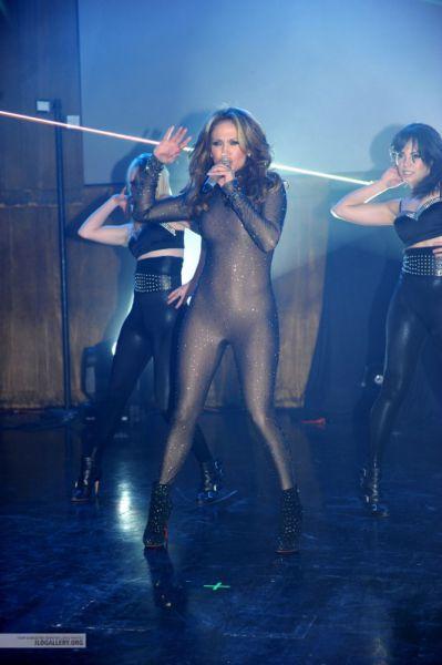 Выступление Дженнифер Лопес в клубе LIV  в Майами. 7 февраля