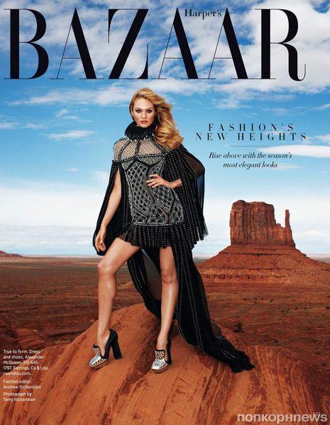 Кэндис Свейнпол в журнале Harper's Bazaar. Август 2013
