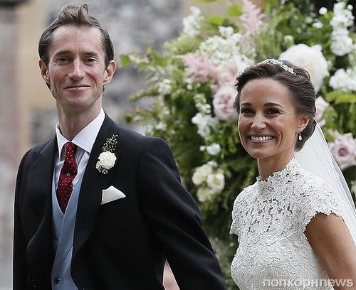 Фото: принц Уильям, Кейт Миддлтон и другие гости свадьбы Пиппы Миддлтон
